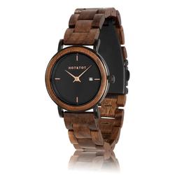 Fair trade Nyx walnut wood watch from Netherlands