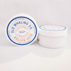 Old Whaling oceanswept shea butter and aloe body butter Made in USA