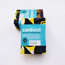 fair trade hand crafted tea tree soap from zambia