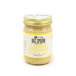 Lemon coconut cashew nut butter with sea salt