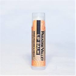 Peaches and cream shea butter and cocoa butter lip balm