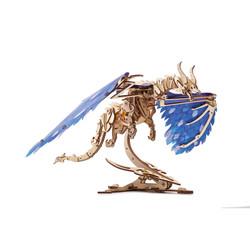 UGears mechanical model dragon kit from Ukraine