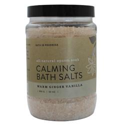Calming epsom salt bath soak Made  in USA