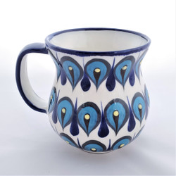 Fair Trade Handpainted Ceramic Mug from Guatemala