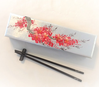 Fair Trade Wooden Chopstick in Box from Vietnam