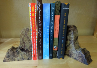 Fair Trade Gorara Stone Bookends from India