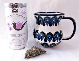 Peaceful Spirit Organic Drinking Tea in Tin