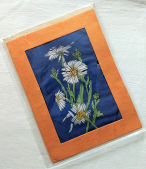 Fair Trade Daisy Note Card from Nepal