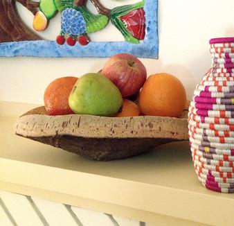 Fair Trade Cork Bark Bowl from Portugal