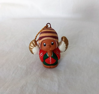 Fair Trade Hand Painted Ceramic Ornament from Peru