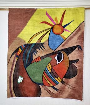 Fair Trade Woven Wool Wall Hanging from Peru