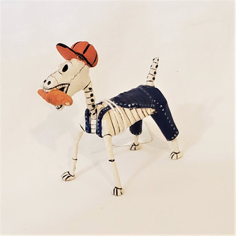 Fair Trade Retablo Day of the Dead Dog from Peru