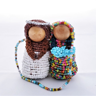 Fair Trade Beaded Holy Family from Honduras
