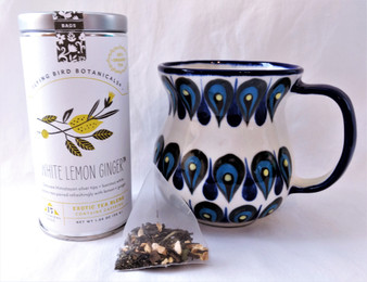 Fair Trade Organic White Lemon Ginger Tea