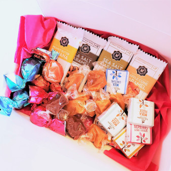 Fair Trade Chocolate and Caramel Gift Set