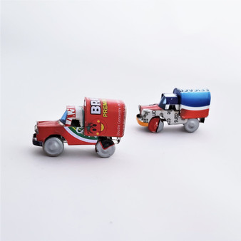 Fair Trade Mini Tin Can Truck from Madagascar