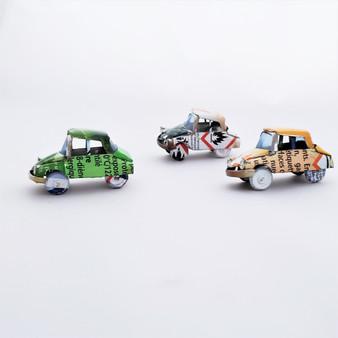 Fair Trade Mini Tin Can Sedan from Madagascar