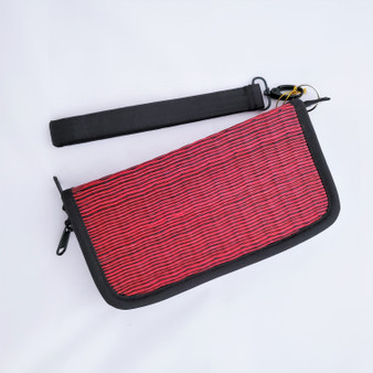 Fair Trade Woven Grass Wristlet Coin Purse from Cambodia