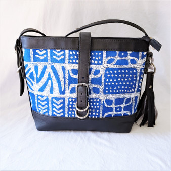 Fair Trade Batik Bark Weave Cloth Purse from Zimbabwe