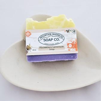 Hand Made Huckleberry Lemonade Soap