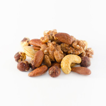Organic Roasted Maple Glazed Mixed Nuts