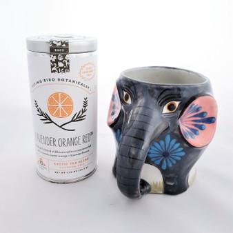 Fair Trade Organic Lavender Orange Red Tea