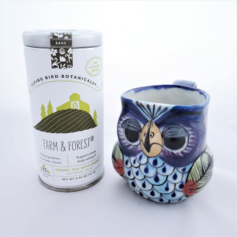 Fair Trade Organic Farm and Forest Drinking Tea