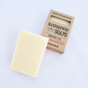 lemon hefeweizen handbrewed all natural beer soap