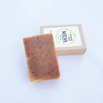 mocha all natural handbrewed soap