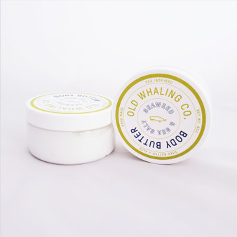 Hand made seaweed and sea salt pthalate free body butter