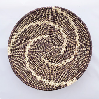 Fair trade prayer mat basket from Senegal