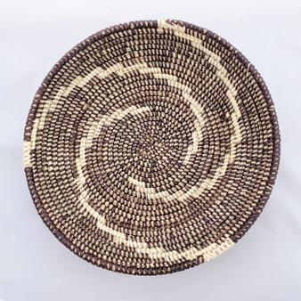 Fair trade prayer mat basket from Senegal