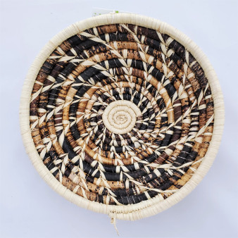 fair trade banana fiber and sisal basket from Uganda