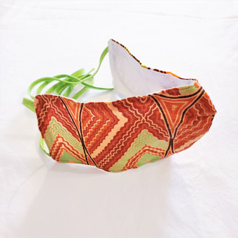 fair trade waxprint cotton face mask from Ghana