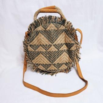 fair trade jute cross body bag from Bangladesh