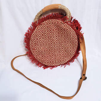 fair trade jute cross body bag from Bangladesh