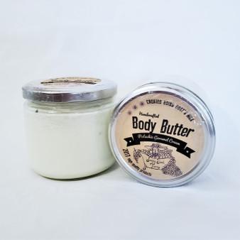 all natural hand made goat milk body butter
