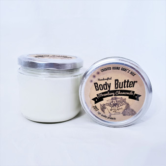 all natural hand made goat milk body butter