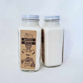 all natural hand made goat milk body lotion