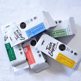 Fair Trade organic travel size medium roasted coffee from Nicaragua