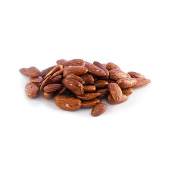 organic dry roasted maple glazed almond nuts