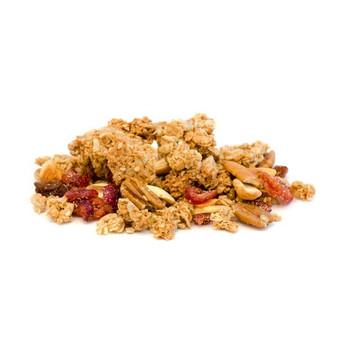 organic cranberry cashew granola