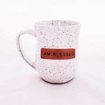 Fair trade ceramic blessed mug from Haiti