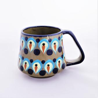 Fair Trade Handpainted Ceramic Mug from Guatemala