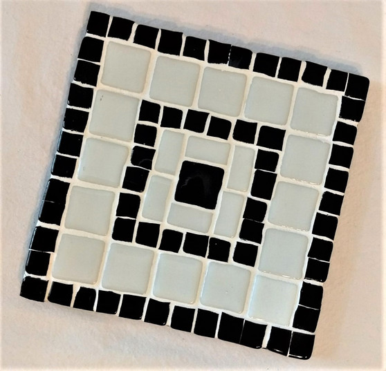 Fair Trade Glass Mosaic Trivet from Lebanon.