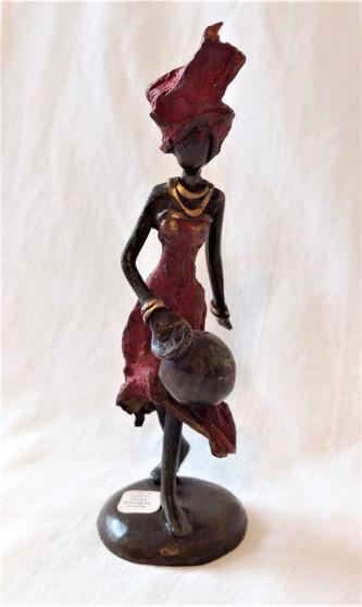 Fair Trade Lost Wax Bronze Sculpture from Burkina Faso