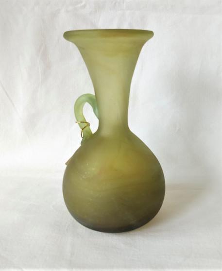 Fair Trade Hebron Glass Decorative Vase from Palestine