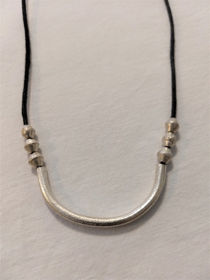 Fair Trade Recycled Bullet Casing Necklace from Ethiopia