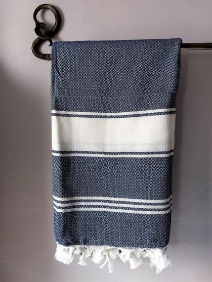 Fair Trade Hand Loomed Cotton Bath Towel from Turkey