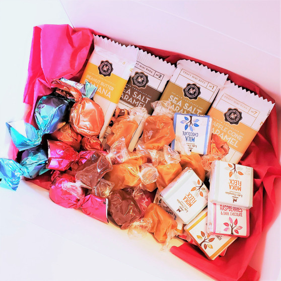 Fair Trade Chocolate and Caramel Gift Set